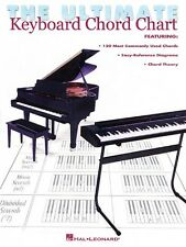The Ultimate Keyboard Chord Chart (1999, Paperback)