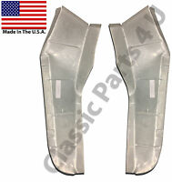 1957 1958 Ford Custom 300 Trunk Extensions Pair Free Shipping
