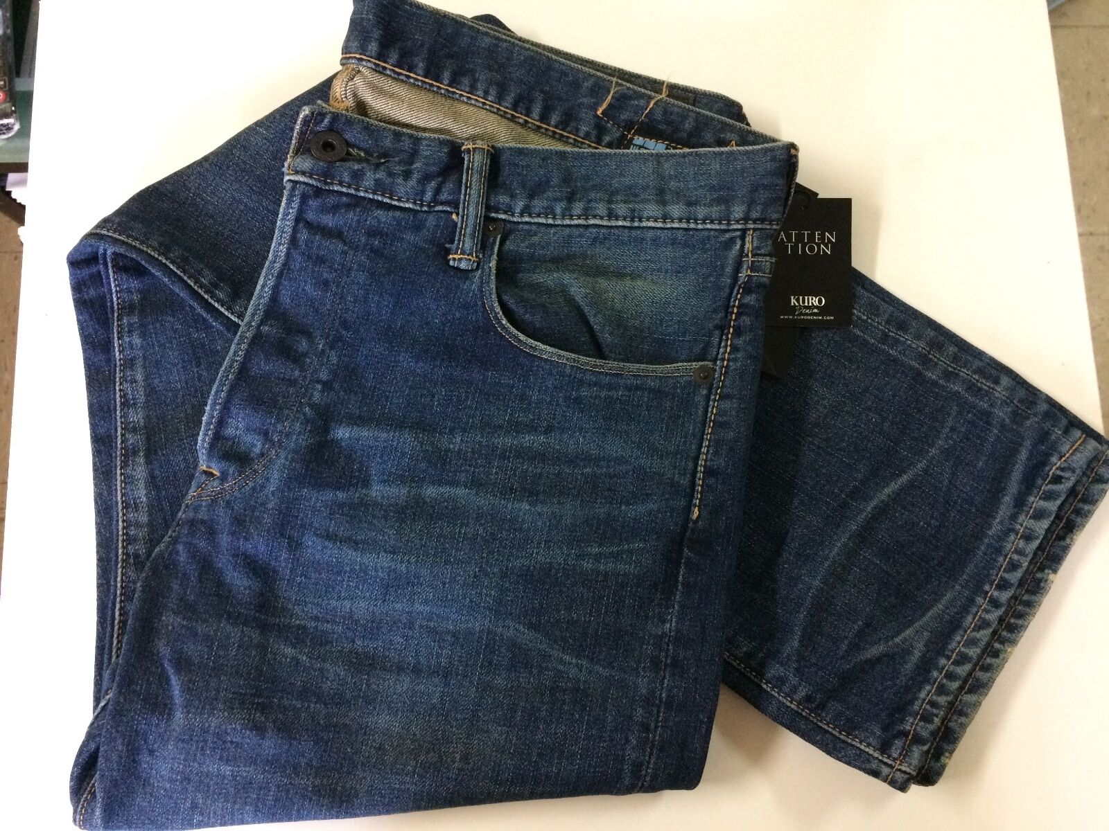 Kuro diamante vintage jeans, + made in Japan KURO Okayama Japan