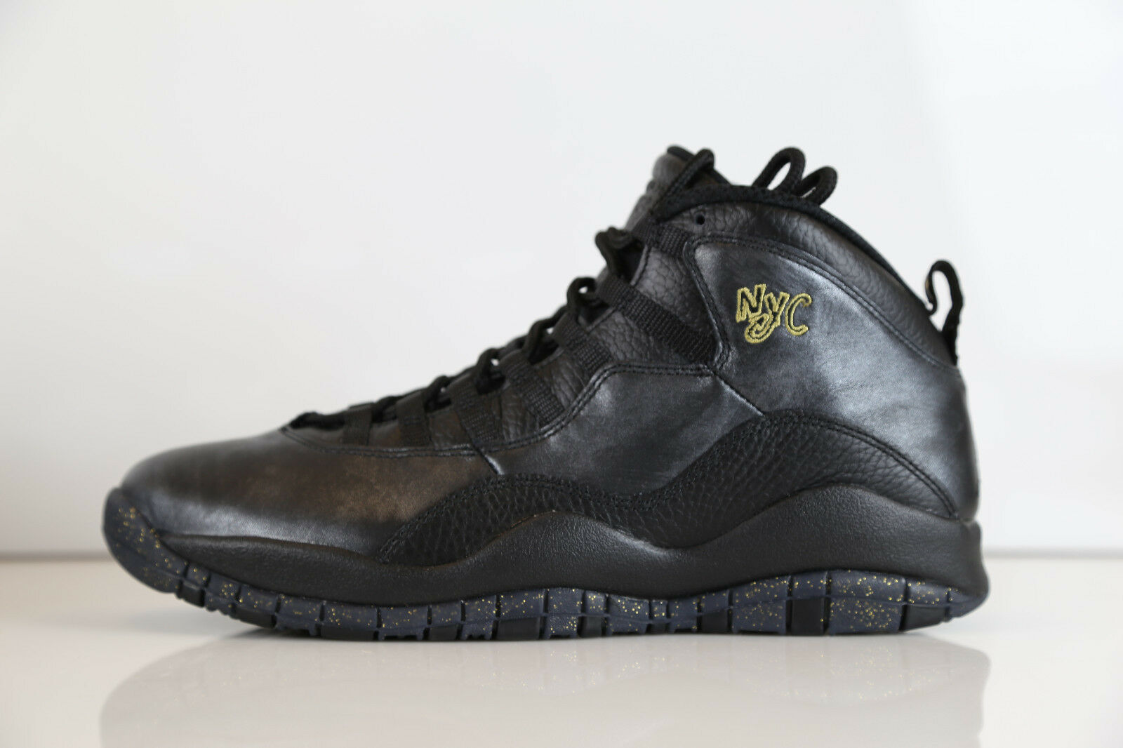 Nike air jordan retro - 10 new york york york city pack schwarzes gold 310805-012 - 11 12 x paris 784963