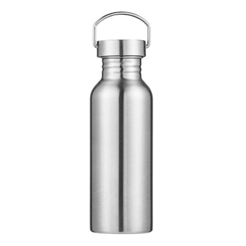 Stainless Steel Water Bottle Double Wall Leak Proof Sports Wide Mouth Flask