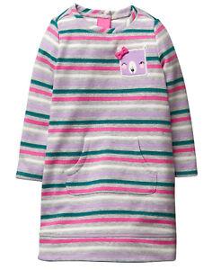 NWT Gymboree Woodland Weekend Bear Sparkle Stripe Dress Baby Toddler Girl