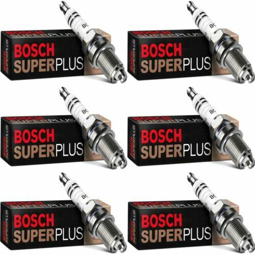 6 New Bosch Double Platinum Spark Plugs For 1998-05 MERCEDES-BENZ CLK320 V6-3.2L