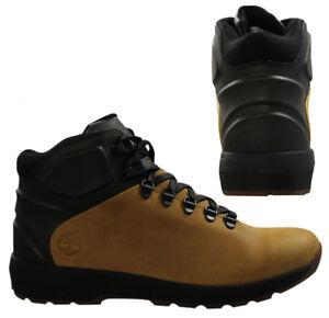 Premuim Mens A183b Westford Mid D29 Wheat Boots Timberland Leather Black wf6qO1wPA
