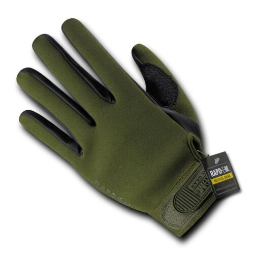 Rapid Dom Gloves Waterproof Breathable Neoprene All Weather Shooting Work Duty