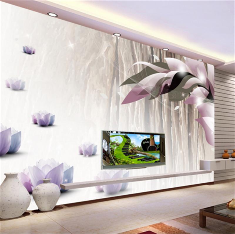3D lila Flower Pattern 82 Wallpaper Mural Paper Wall Print Wallpaper Murals UK