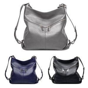 Soft-Real-Genuine-Leather-Women-Backpack-Luxury-Handbag-Shoulder-Bag-Satchel-Bew