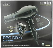 Andis Professional Pro Dry+Tourmaline Ionic Ceramic Hair Blow Dryer 82360 110V *