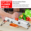 Professional-Vegetable-Fruit-Cutter-Grater-Adjustable-Safety-Home-Kitchen-Tool miniatura 5