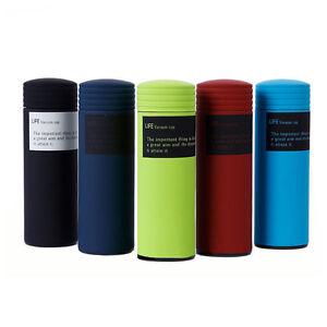 0.5L Edelstahl Isolierflasche Isolierbecher Thermoflasche Thermoskanne
