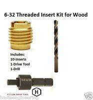 E-z Lok 6-32 Threaded Insert Installation Kit For Wood E-z Lok P/n Ez-400-006