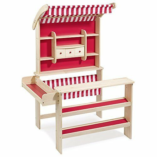Wooden toy shop with awning 47463 by howa
