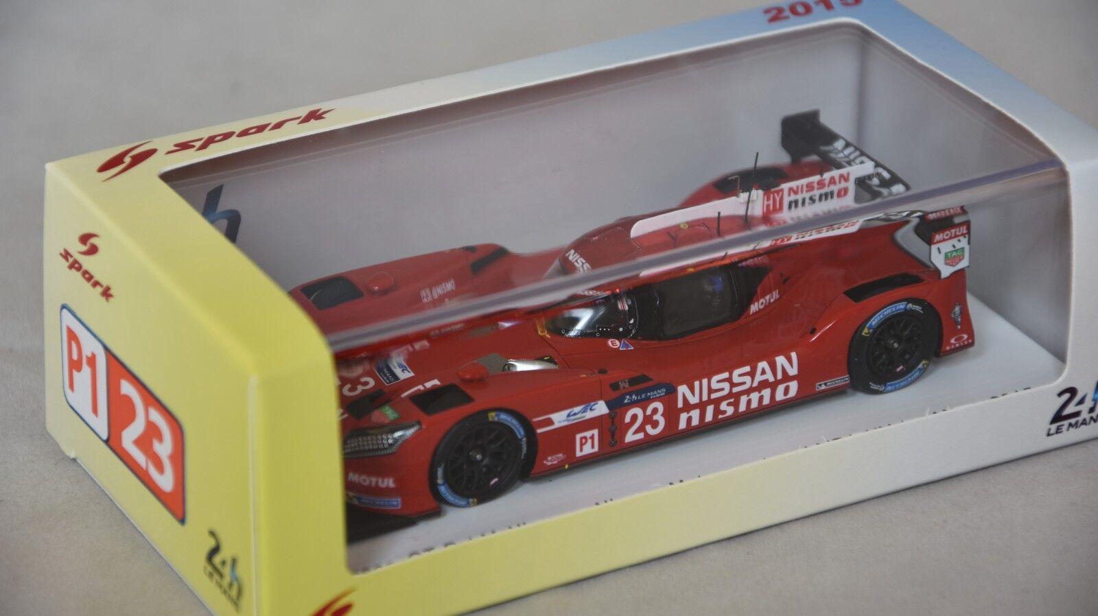Spark S4642 - NISSAN GT-R LM Nismo n°23 Le Mans 2015 NISSAN Motorsport Pla 1 43