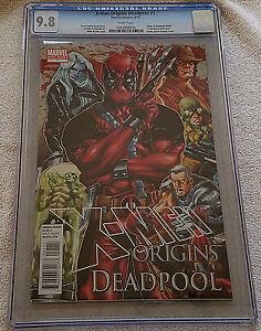 X-Men-Origins-Deadpool-1-CGC-9-8-NM-MT-Marvel-2010-Mark-Brooks-Cover