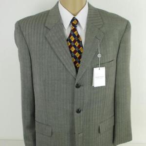42 R Gerald Austin Grau Tweed Reine Wolle 3 Knöpfe Herrenjacke Sport Mantel Eine GroßE Auswahl An Waren