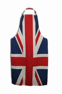 Hell Adults Cotton Union Jack Flag Apron Great British Bake Off Cooks Pinafore