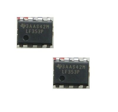 5pcs DIP IC JFET Dual OP Amp Operational Amplifier LF353P LF353 LF-353
