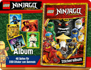 Lego-ninjago-Legacy-Sticker-Album-Collector-039-s-Empty-Without-New-Int