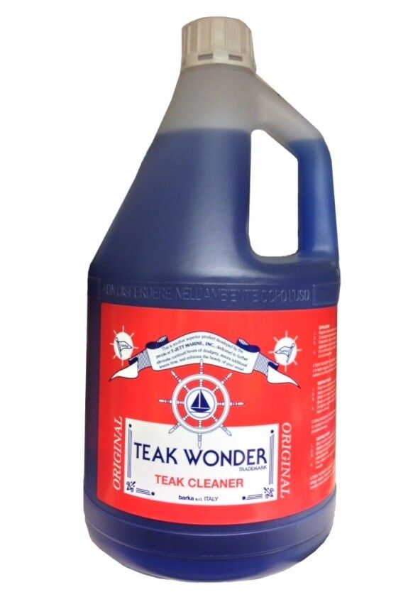 Teak wonder cleaner cleaner cleaner reinigungsmittel 4 lt 8cd28b