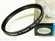 Kenko 52mm UV Digital Filter Lens Protection for 52mm filter thread - UK Stock