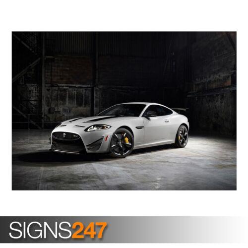 Jaguar xkr s gt (AA296) voiture poster-photo poster print art A0 à A4