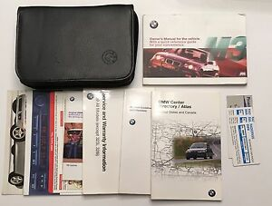 bmw m3 e36 owners manuals and leather case ebay rh ebay com e36 m3 repair manual bmw m3 e36 owner's manual