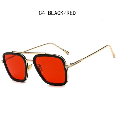 Hot Sunglasses Peter Parker Spiderman Far From Home Tony Stark EDITH Glasses NEW