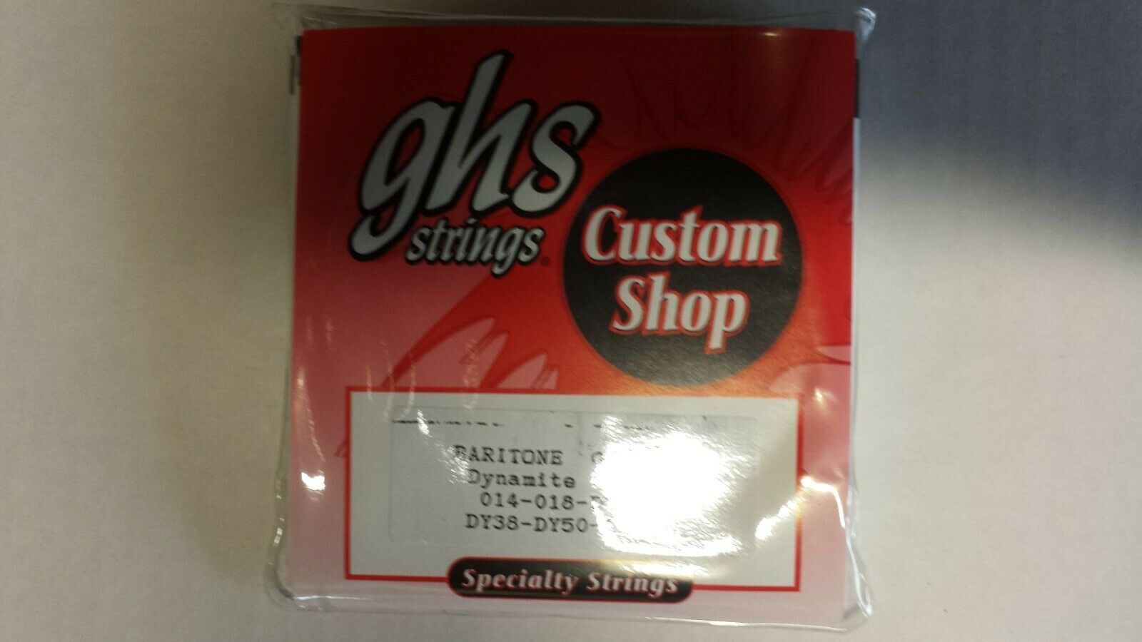 Ghs BARITONE GUITAR Dynamite Alloy strings Set. 10 packs