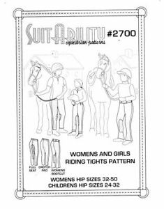 HORSE-amp-WESTERN-SUITABILITY-WOMENS-amp-GIRLS-RIDING-TIGHTS-PATTERN-2700
