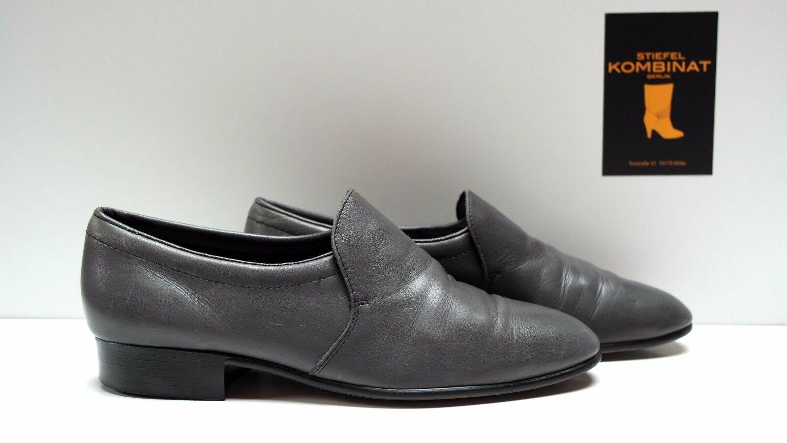 Gallus Herren Schuhe Halbschuhe Leder D 40 UK 6,5 Slipper Loafer TRUE VINTAGE
