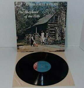 LP Record Harold Bell Wright THE SHEPHERD OF THE HILLS Book Play Vinyl Album