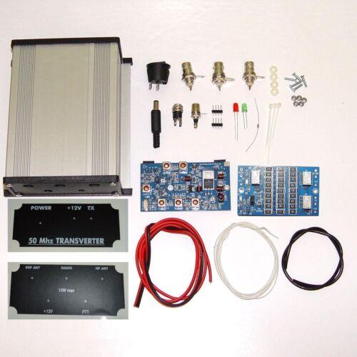 50 to 28 MHz TRANSVERTER KIT 6meters 6m 50mhz VHF UHF Ham Radio DX