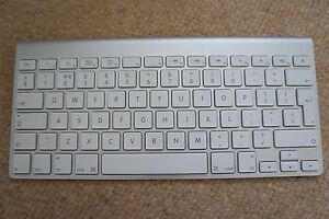 apple wireless keyboard replacement key keys a1314 a1255 a1242 all keys ebay. Black Bedroom Furniture Sets. Home Design Ideas