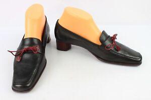size 40 27dc5 08a42 Dettagli su Scarpe Parlanti in pelle Flessibile Nero Italia Regno Unito 5 /  It 38 Ottime