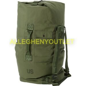 Image Is Loading Us Military Duffle Bag Duffel Sea Od
