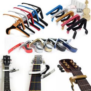 Acoustic-Guitar-Tuner-Capo-pour-Pince-Rapide-Basse-Banjo-Electrique-Key-Trigger