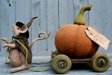 Primitive The COACH RIDE Halloween Doll Pattern