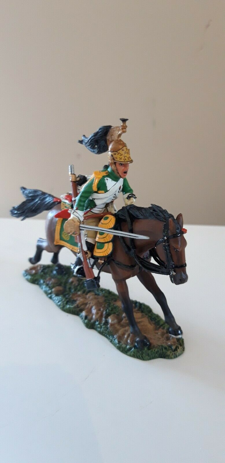 King and country Waterloo Napoleonic french dragoons  boxed 1 1 30  na45