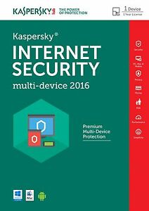 Kaspersky internet security 2016 multi device 1pc 1year download