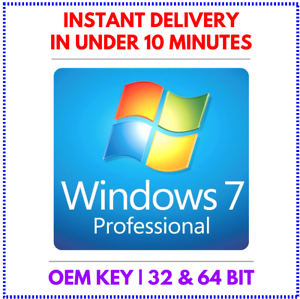 instant email delivery Windows 7 Professional 32//64 bit Activation key