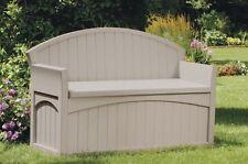 Item 4 Suncast Ultimate 50 Gallon Resin Patio Storage Bench New