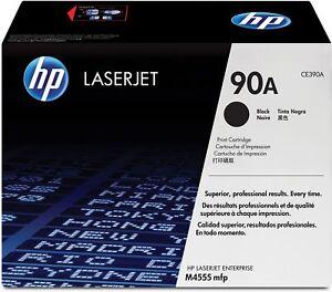 HP 90A CE390A Black Toner Cartridge LaserJet Enterprise 600 M4555