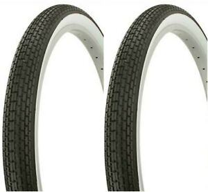 New Lowrider Bicycle BMX White Wall Tires /& Tubes 16x1.75 Complete Set