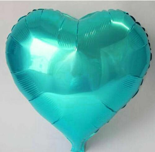"""32/"""" auto gonflant cœur forme feuille hélium Ballons Mariage Bday Parti Ballon U"""