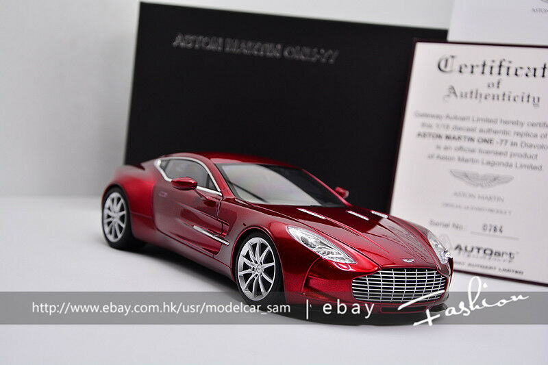 Autoart 1 18 aston Martin ONE-77 (DIAVOLO RED)