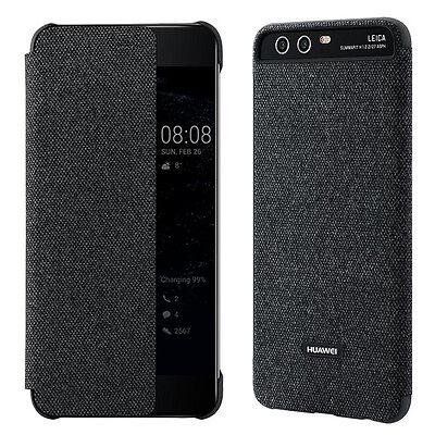 online retailer 83db2 aac79 Original Quality Huawei P10 Plus Smart View Flip Case Cover PC+MF Case 5.5