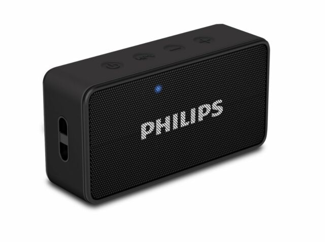 Philips BT64 Portable Wireless Bluetooth Speaker For Mobile *ONLY BOX OPEN*