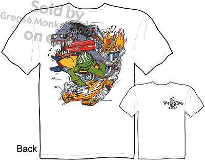 Big Daddy T Shirt Junk Yard Kid Ed Roth Rat Fink Clothing Tee Sz M L XL 2XL 3XL