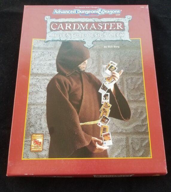 Dungeons & Dragons Cardmaster Adventure Design Deck Box Set 1090 TSR 1993