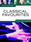 Really Easy Piano: Classical Favourites by Omnibus Press (Paperback, 2010)